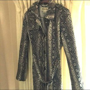 Michael Kors trench coat Snake print, size S